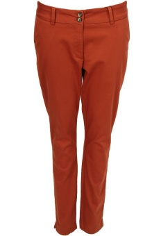 Chinos Isay autumn orange