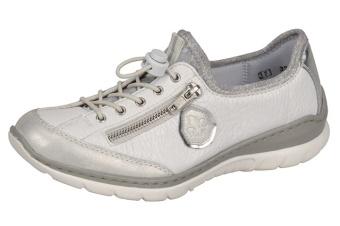 Rieker Sneakers vit/silver Vidd F 1/2