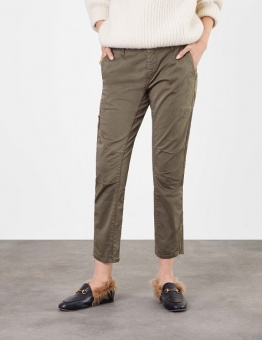 Jeans MAC Rich Cargo olive night 28 tum