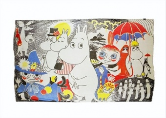 Mumin number 1 scarf