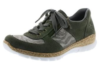 Rieker Sneakers grön/grå Vidd F 1/2