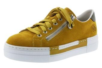 Rieker Sneakers gula Vidd F co