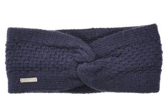 Pannband marinblå