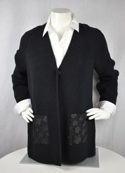 Jacket/Cardigan svart