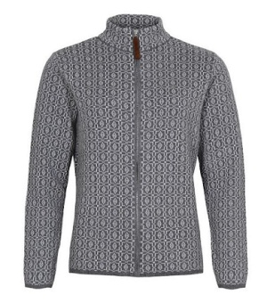 Cardigan grey melange