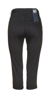 Jeans Tasty 890 Capri satinstretch black