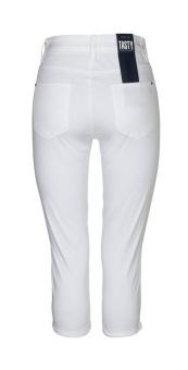Jeans Tasty 890 Capri satinstretch white