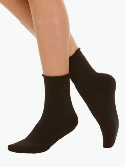 Socka u ankelresår 39-41 svart+vit