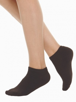 Socka 2-pack utan ankel 39-41 vit+svart