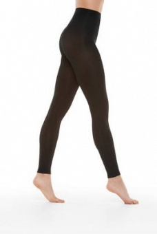 Leggings Opaque matt 80 den black