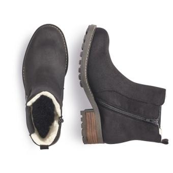 Damskor Boots fodrade Vidd F 1/2