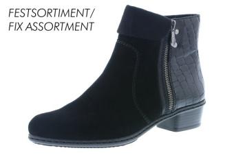 Rieker boots svart vidd F 1/2