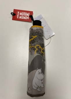 Paraply mumin grey