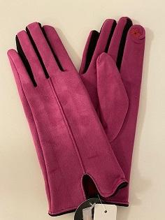 Touchhandske fuchsia