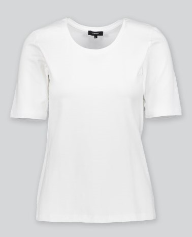 T-shirt organic cotton white