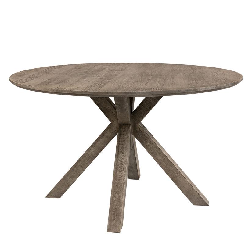 Tree matbord Ø130H76 Pebbles grey