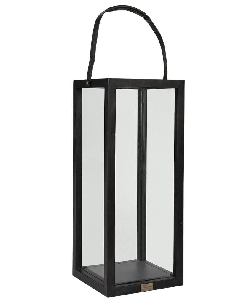 Golvlykta Java Oak svart 30x30H80