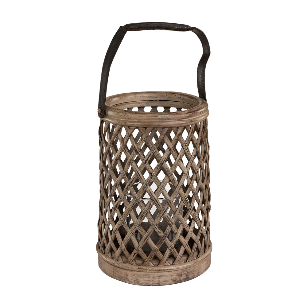 Bamboo lykta vintage