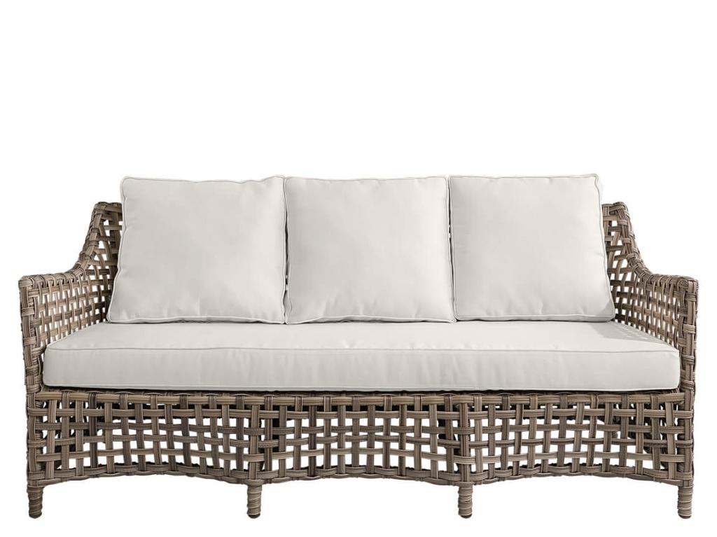 Malaga 3-sits soffa Classic Grey