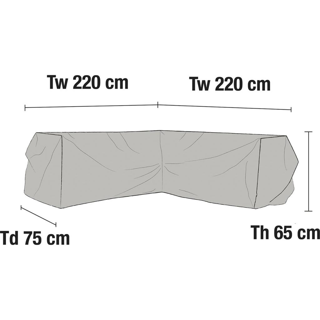Leone Hörnsoffa möbelskydd V220/H220x75H65
