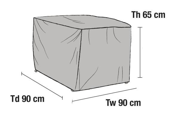 Möbelskydd fåtölj 90x90H65