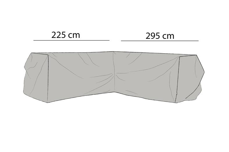Weldon Hörnsoffa möbelskydd V295/H225x84H65