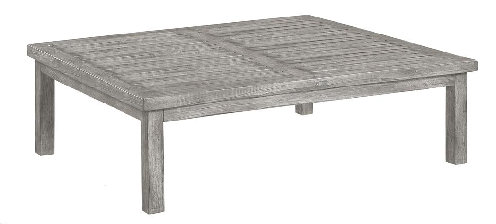Vintage soffbord instant grey teak 120x120H45
