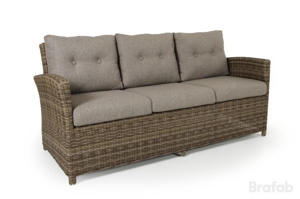 Soho rustik 3-sits soffa