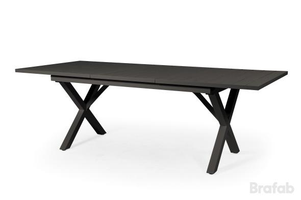 Hillmond förlängningsbord 160-220x100 svart