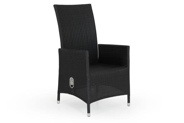 Ninja svart positionsstol utan dyna