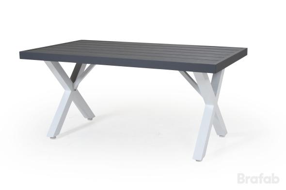 Weldon soffbord 120x75 vit/grå