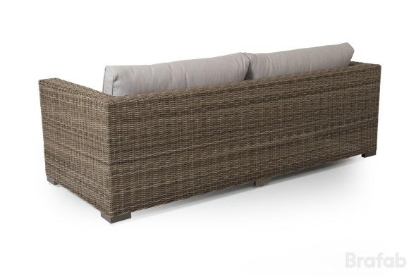 Ninja rustik 3-sits soffa
