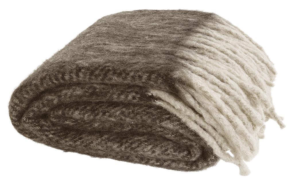 Cosy pläd Brown 130X180