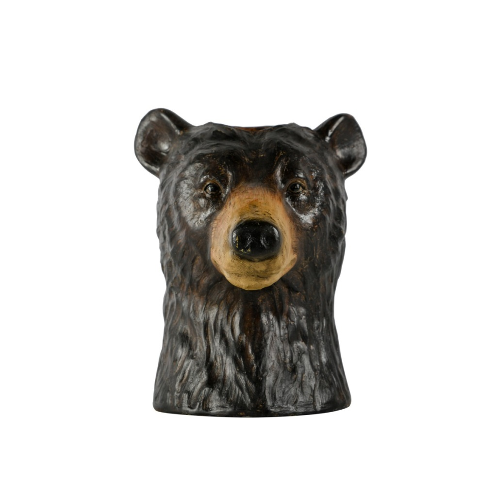 Vase Bear 23x28 Brown