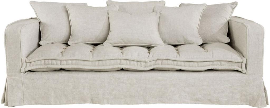 Greenwich 2.5-sits soffa linen sand