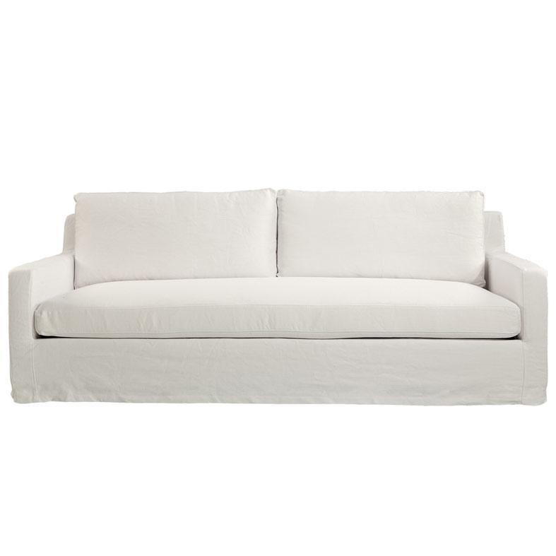 Guilford 3-sits soffa Tobago White