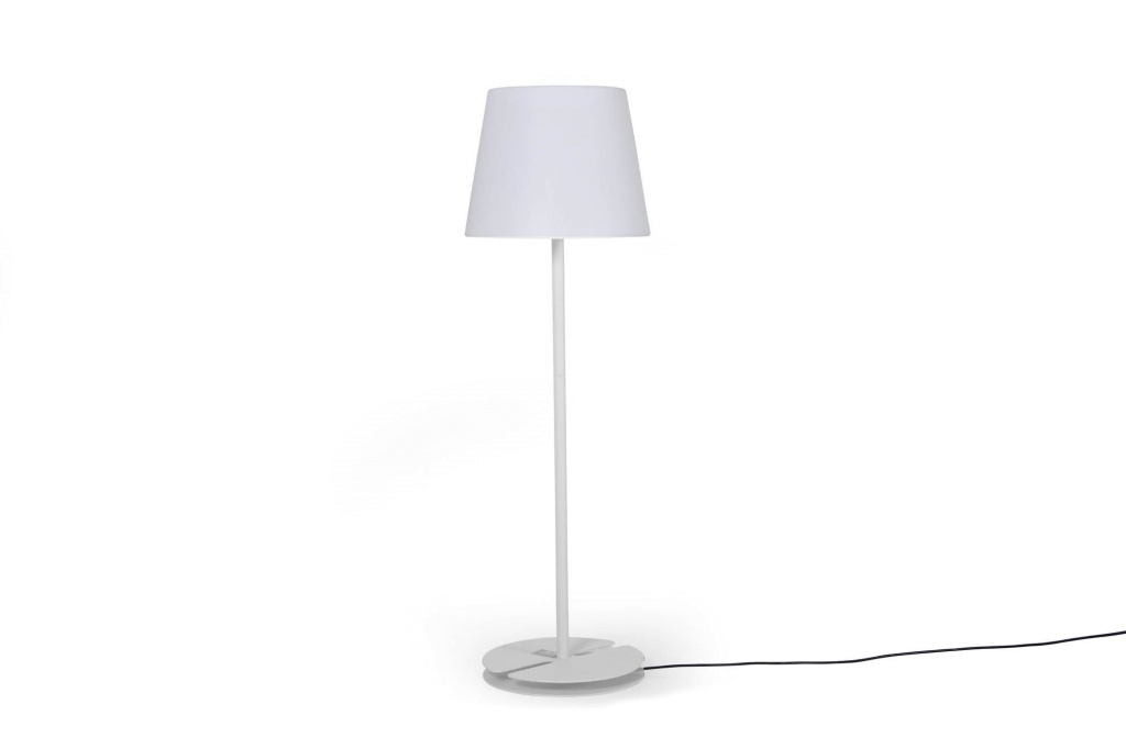 Bilbao utomhus lampa vit