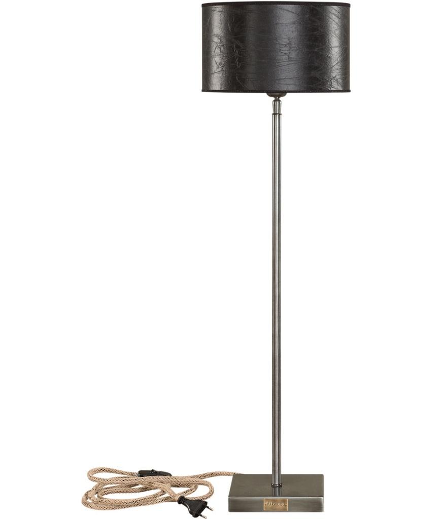 Pewter bordslampa hög