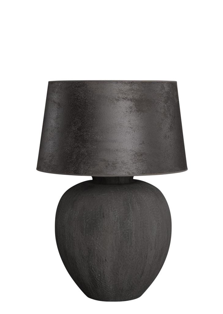 Pasadena bordslampa keramik svart