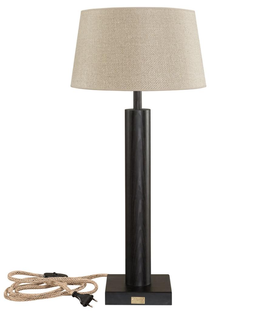 Milan bordslampa svart