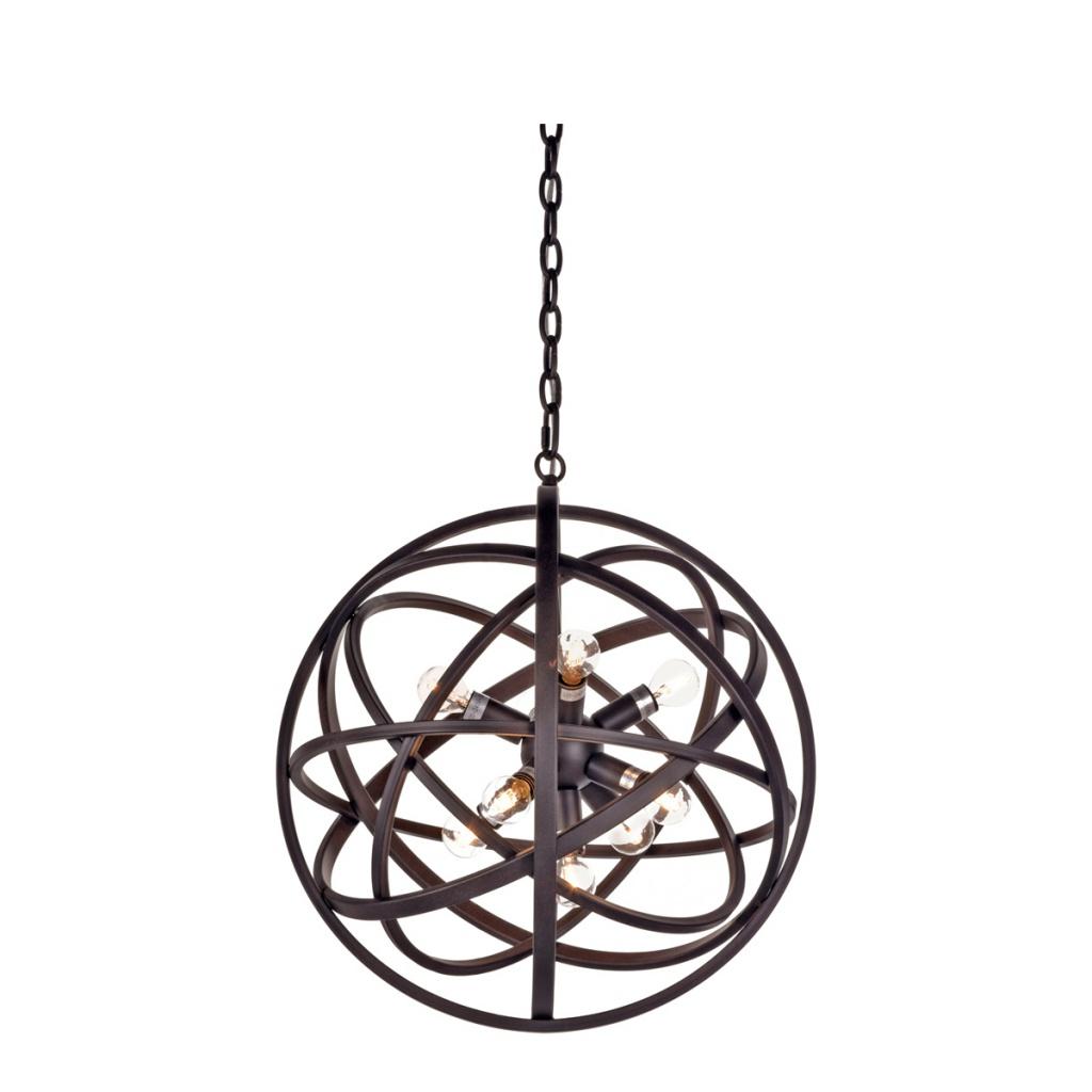 Nest taklampa svart Ø80