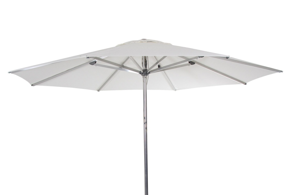 Empoli parasoll vit