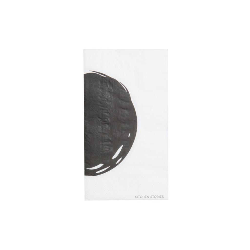 SERVETTER CERCHIO 20x10 BLACK/WHITE