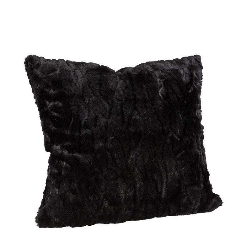 Celine kuddfodral Solid Black 50x50