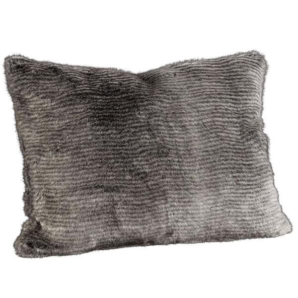Leia Stripe Grey kuddfodral 50x50