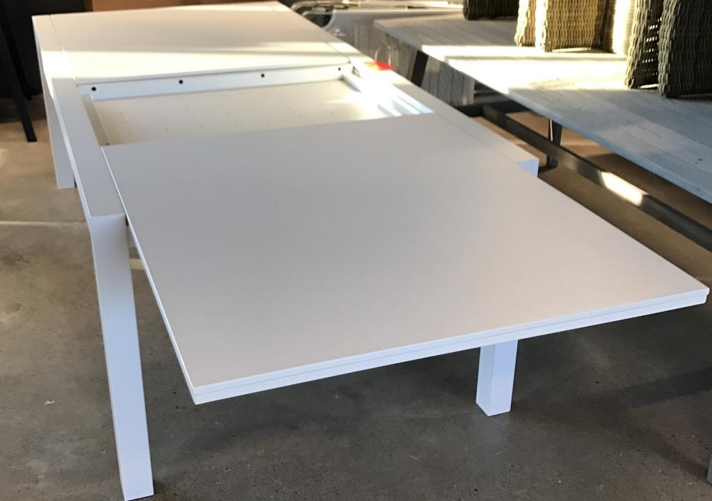Artimes honeycomb förlängningsbord vit II-sortering