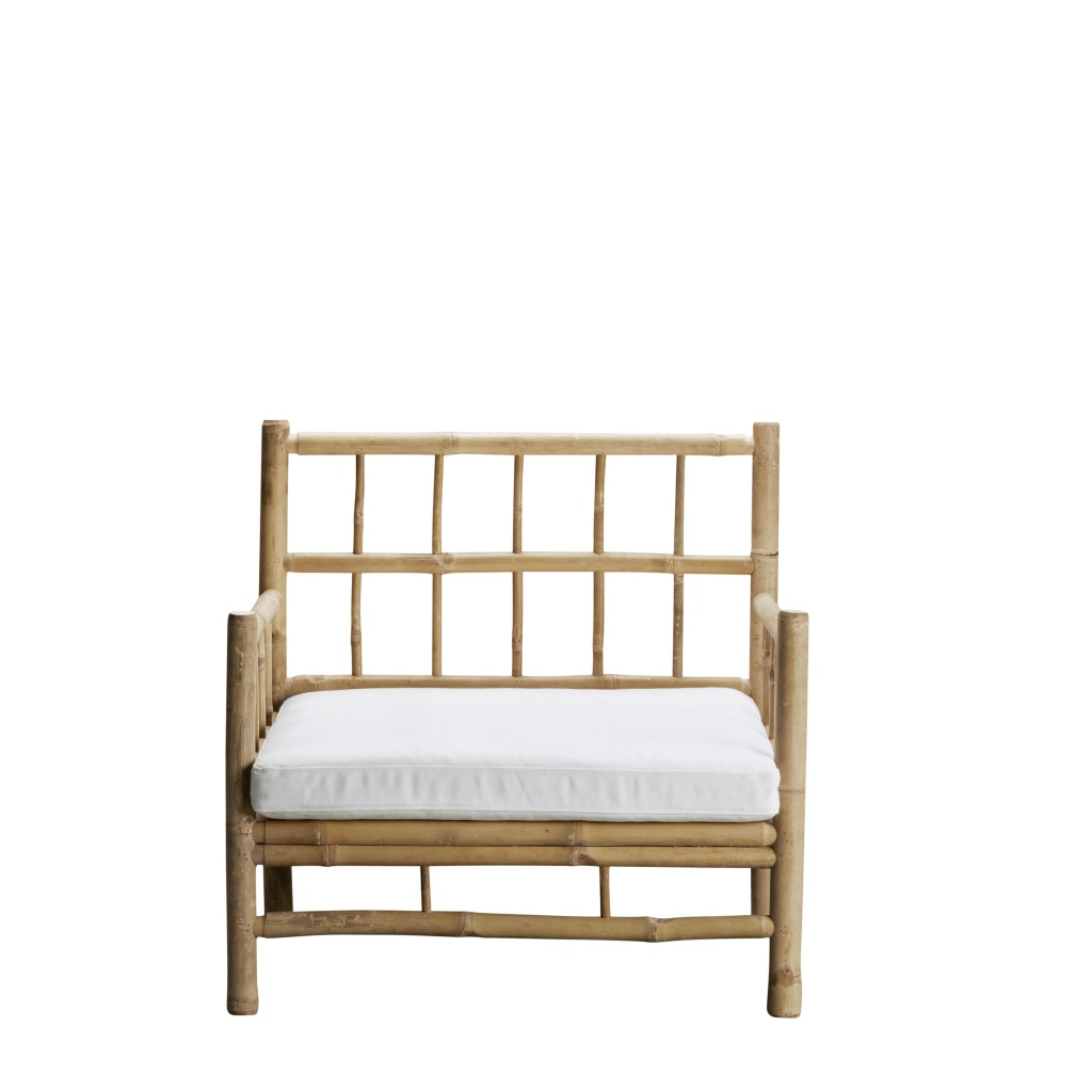 BAMCHAIR white loungestol
