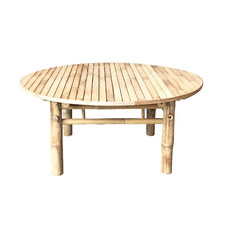 Bambu soffbord Ø90H45