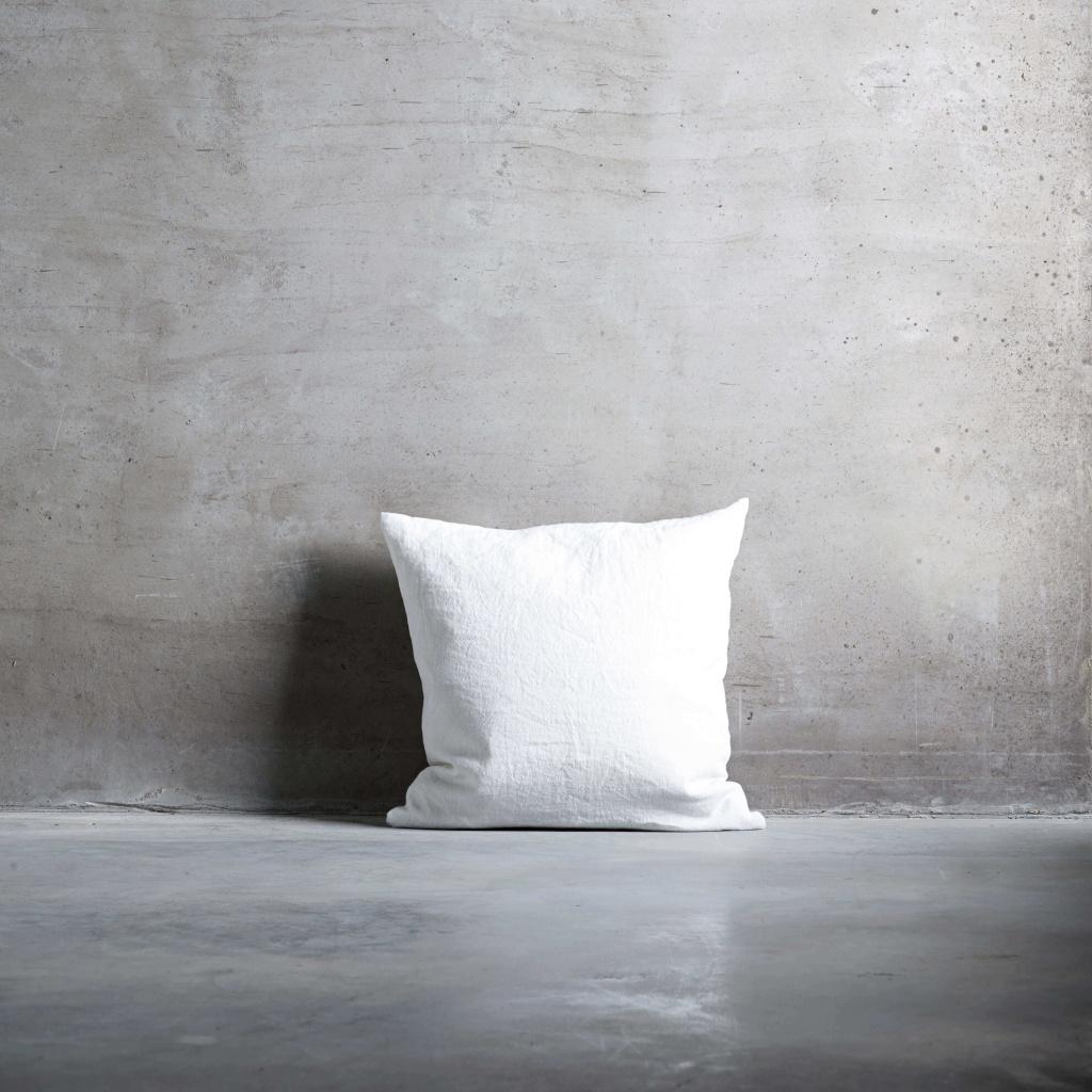 FALLLIN white 50x50 kuddfodral