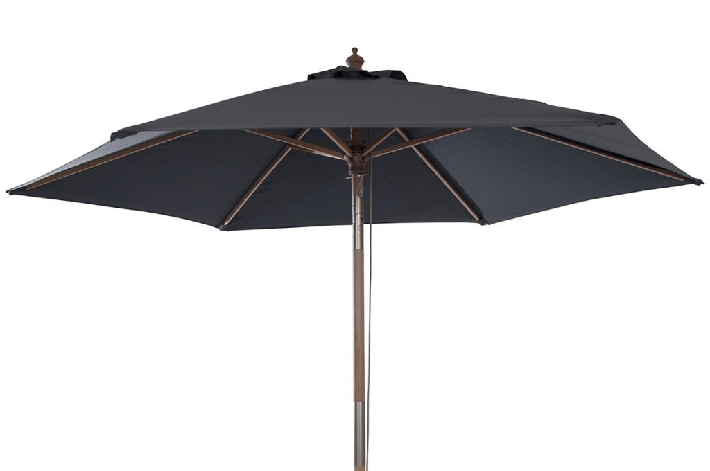 Luna parasoll Ø2.3 svart